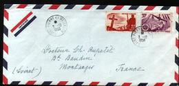 Saint Pierre Et Miquelon, Lettre Pour La France De 1956 - St.Pierre & Miquelon