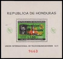 Honduras 1968 - Mi-Nr. Block 13 ** - MNH - Kennedy - Honduras