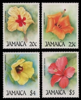 Jamaika 1987 - Mi-Nr. 683-686 ** - MNH - Blumen / Flowers - Jamaica (1962-...)