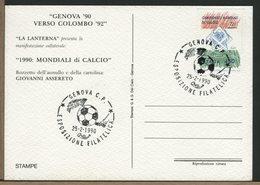 ITALIA - COPPA DEL MONDO DI CALCIO - GENOVA - Coppa Del Mondo