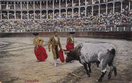 CPA Espagne - Estocada - Corrida- 1920 - Corrida