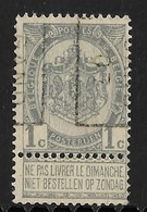 Gent 1907   Nr. 871B - Precancels