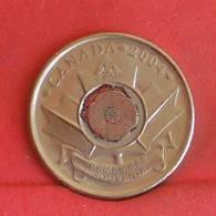 CANADA 25 CENTS 2004 -    KM# 510 - (Nº27238) - Canada