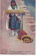 "ETHNIE - 616 - A HOPI WOMAN IN WEDDING DRESS, ORAIBI, ARIZONA- ""Femme Hopi En Robe De Mariée"" - Amérique"