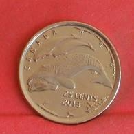 CANADA 25 CENTS 2013 -    KM#  - (Nº27239) - Canada