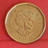 CANADA 1 DOLLAR 2012 -    KM# 1255 - (Nº27240) - Canada