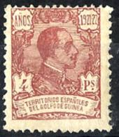 Guinea Española Nº 165 Con Charnela - Guinea Española