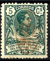 Guinea Española Nº 74 Con Charnela - Guinea Española