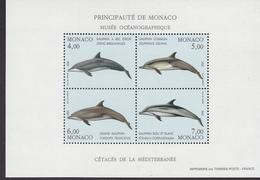 Monaco 1992 Delphins M/s ** Mnh (41682G) - Blokken
