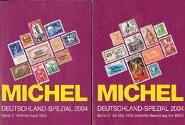 Alemania - MICHEL - Deutschland-Spezial-Katalog 2004 - Vol. 1 Y 2 - Germany