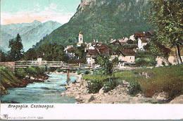 BREGAGLIA - CASTASEGNA -  PANORAMA  1900 - GR Grisons