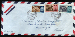 Saint Marin, Lettre Pour La France De 1956 - St.Pierre & Miquelon