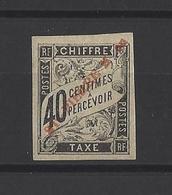 ST PIERRE ET MIQUELON. YT  Timbres Taxe  N° 6  Neuf * 1893 - Postage Due