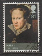 GB 2009 Kings & Queens (2nd Series) House Of Tudor 81 P Multicoloured  SG 2928 O Used - 1952-.... (Elizabeth II)