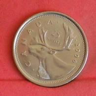 CANADA 25 CENTS 2006 -    KM# 493 - (Nº27250) - Canada