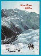 Monte Bianco - Seggiovia  - Non Viaggiata - Italia