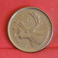 CANADA 25 CENTS 2010 -    KM# 493 - (Nº27251) - Canada