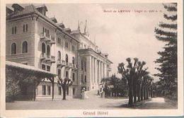 SALUTI  DA  LEVICO  - GRAND  HOTEL  - 1927 - Trento
