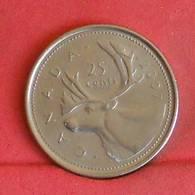 CANADA 25 CENTS 2007 -    KM# 493 - (Nº27252) - Canada