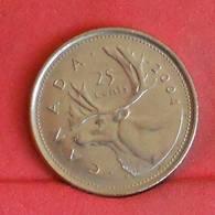CANADA 25 CENTS 2004 -    KM# 493 - (Nº27253) - Canada