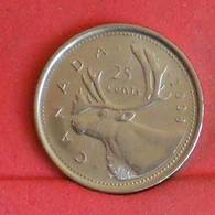 CANADA 25 CENTS 2008 -    KM# 493 - (Nº27254) - Canada