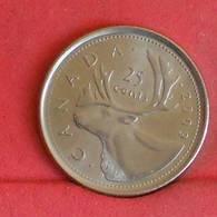 CANADA 25 CENTS 2009 -    KM# 493 - (Nº27255) - Canada