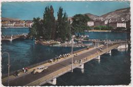 Suisse Geneve  L'ile Jj Rousseau Et Le Pont  Des Bergues - GE Geneva