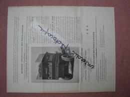 Pneus Continental 1901 Dépliant 2 Volets 4 Pages 275X220 Démonstration Des Pneus Bi Et Tri Couplés - Cars