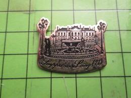 818c Pin's Pins / Beau Et Rare / THEME VILLES : Par Ici La Bonne !!! SOUPPES SUR LOING Pas Souppes à Lannion !! - Cities