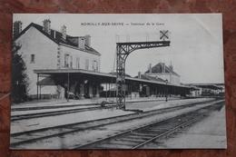 ROMILLY SUR SEINE (10) - INTERIEUR DE LA GARE - Romilly-sur-Seine
