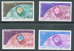 Télécommunications Spatiales 1962 / 4 Timbres Neufs ** - Airmail