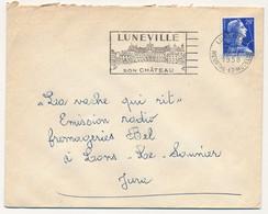 Enveloppe - OMEC Secap - LUNEVILLE (Meurthe Et Moselle) - Son Chateau - Postmark Collection (Covers)