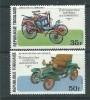 Togo  N° 893 / 94 XX Rétrospective Des Voitures Automobiles, Les 2 Valeurs Sans  Charnière, TB - Togo (1960-...)