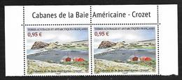 TAAF 2019 - Cabanes De La Baie Américaine - Crozet ** - French Southern And Antarctic Territories (TAAF)