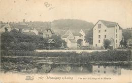 77 MONTIGNY SUR LOING - Vue Sur Le Loing Et Le Moulin - France