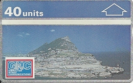 Gibraltar: GNC 101K The Rock, View From The South. Mint - Gibraltar