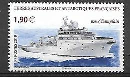 TAAF 2019 - Le Champlain ** - French Southern And Antarctic Territories (TAAF)