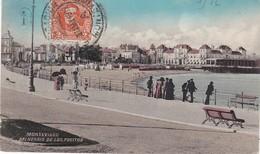 URUGUAY, MONTEVIDEO, BALNEARIO DE LOS POCITOS, ED. ALMERA HERMANOS ,ANIMEE,PLAGE,   EURE 1913 , TU1 - Uruguay