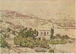 Israel  Vue Generale De E Nazareth  Dessinee Par Le Pere Charles De Foucauld - Israel