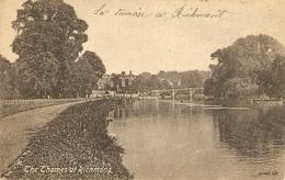 The Thames At Richmond - Surrey
