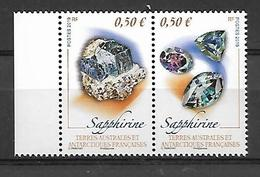 TAAF 2019 - Diptyque - Sapphirine ** - French Southern And Antarctic Territories (TAAF)