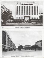 MAROC - RABAT - BOULEVARD LYAUTEY ET HOTEL BALIMA 1930/40 - Rabat