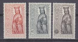 Liechtenstein 1954 Marianisches Jahr 3v ** Mnh  (41683B) - Liechtenstein