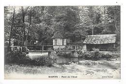 SAINTS  (cpa 77)  Pont De L'Aval  -  L 1 - France
