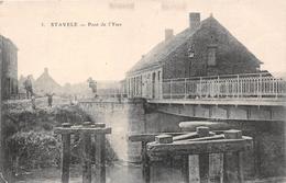 ¤¤   -  BELGIQUE  -  ALVERINGEN   -  STAVELE   -  Pont De L'Yser  -  ¤¤ - Alveringem