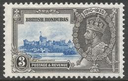 British Honduras. 1935 KGV Silver Jubilee. 3c MH SG 143 - British Honduras (...-1970)