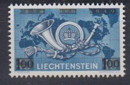 Liechtenstein 1950 UPU Overprinted ** Mnh (41683C) - Liechtenstein