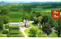 CPM* N°945 - GONNEVILLE SUR HONFLEUR - CHATEAU DE PRETREVILLE - CARTE DOUBLE - France
