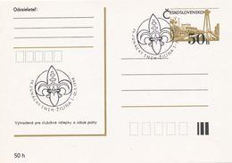 I0525 - Tchécoslovaquie (1990) Zilina 1: IV Conseil Scout - Tsjechoslowakije