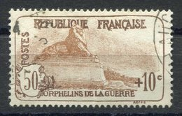 RC 11257 FRANCE N° 230 - 50c + 10c ORPHELINS COTE 15€ OBL. TB - Oblitérés